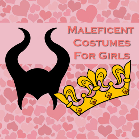 Maleficent costumes child girls