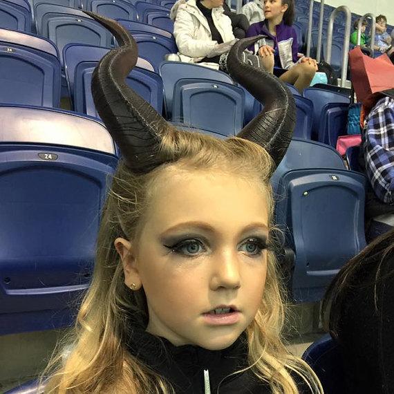 Maleficent Girls Costume For Halloween