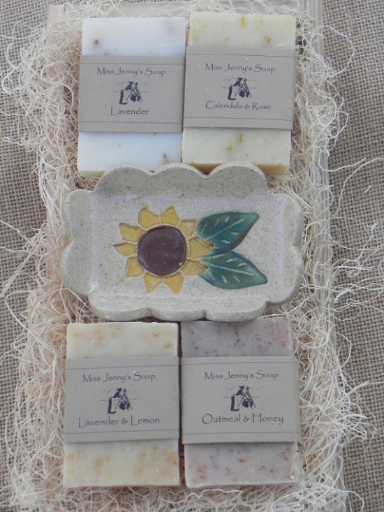 Medium Sunflower Gift Crate