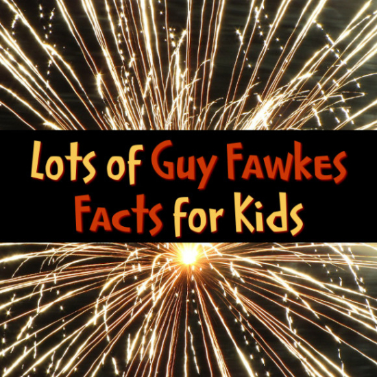 Facts on Guy Fawkes, Gunpowder Plot and Fireworks Night for kids and adults