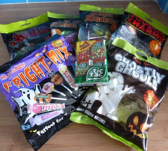 halloween sweets bags UK united kingdom england