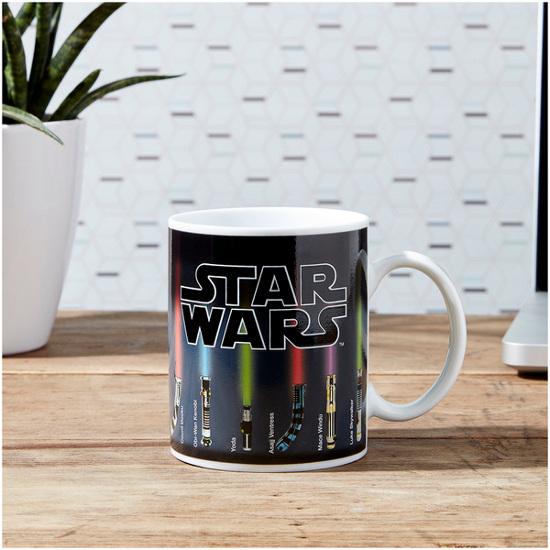 star wars lightsaber heat reveal mug