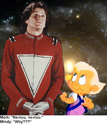 Mork and Mindy TV series