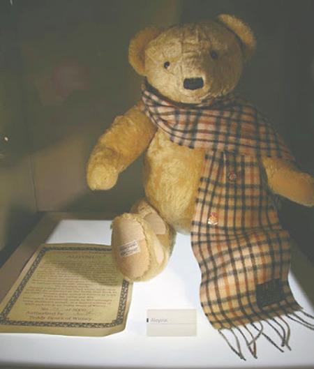 Aloysius teddy bear prop Brideshead Revisited