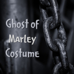 Ghost of Marley Costume Dickensian Fancy Dress