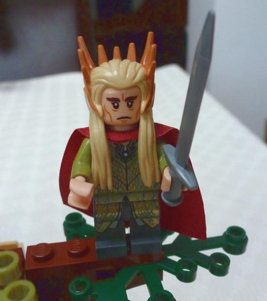 Hobbit Lego Elf Thranduil