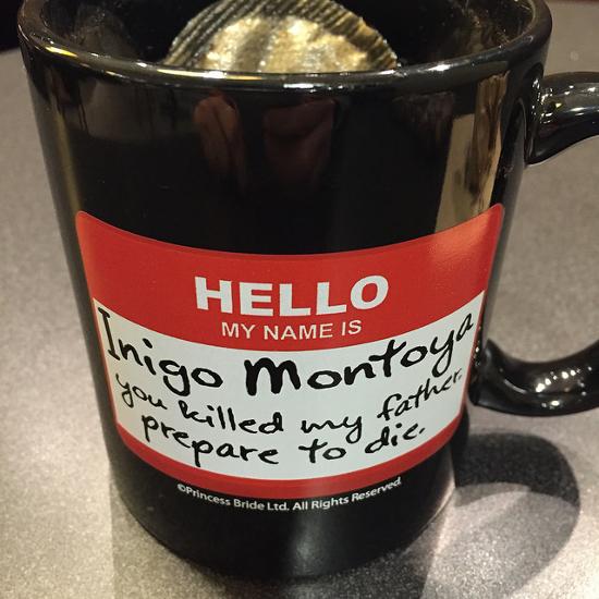 The Princess Bride Inigo Montoya mug