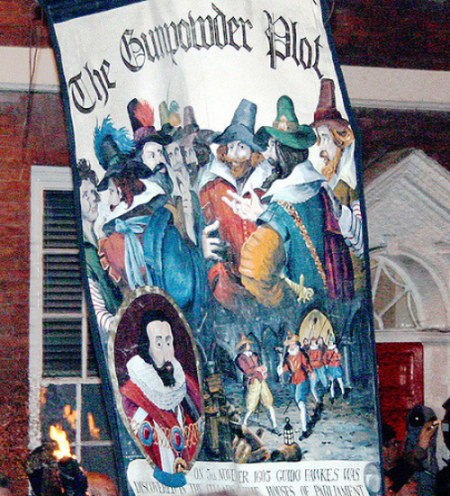Lewes Bonfire Night Celebrations, 5th November: The Gunpowder Plot
