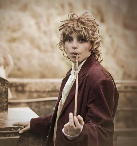 cosplay An Unexpected Journey Bilbo Baggins Hobbit costume