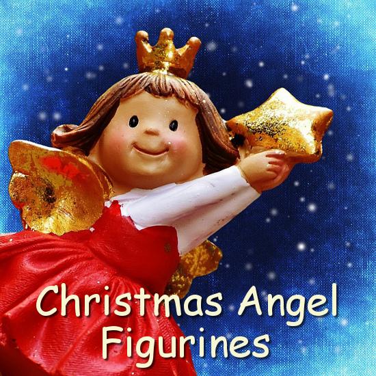 Angel figurine statues
