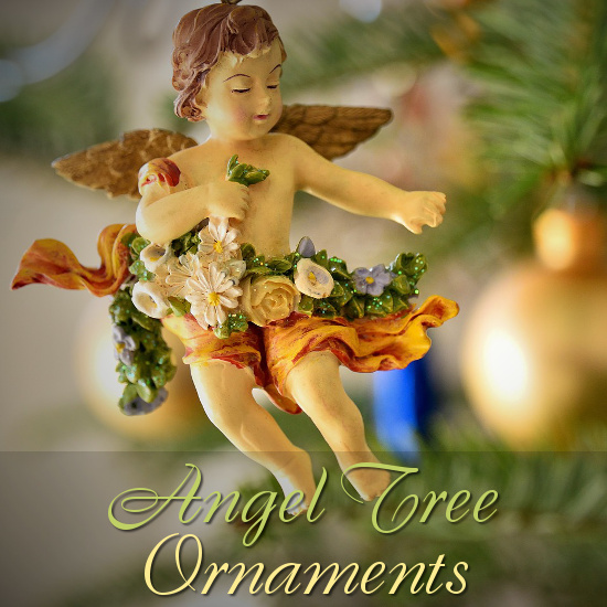 Christmas Angel Ornament for the Xmas Tree Decorations