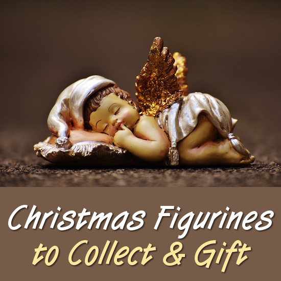 Christmas angel cherub figurine statue