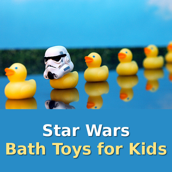 Super Star Wars Bath Toy Selection