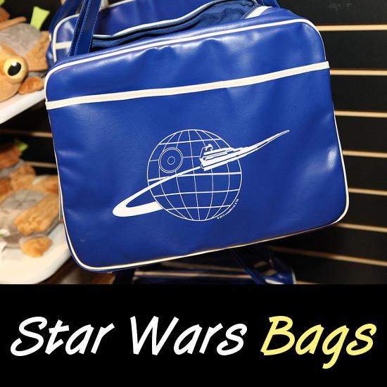 Retro Star Wars Empire blue travel messenger bag