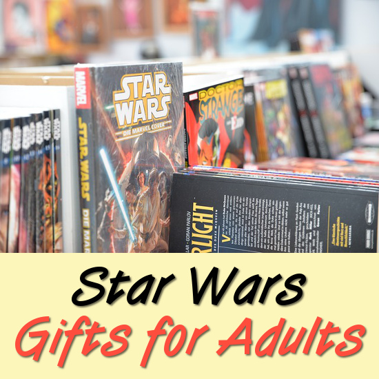 Star Wars books gift ideas for adult science fiction fans