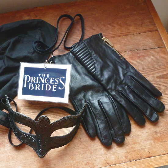 fancy dress cosplay costume Princess Bride Westley Man in Black items