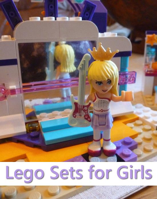 Lego Friends set stage minifigure