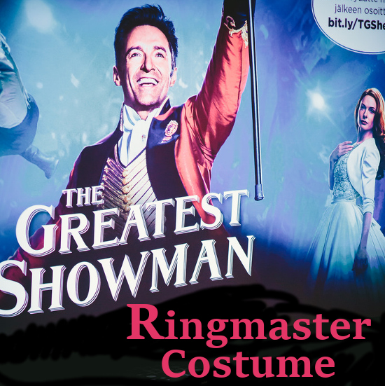 The Greatest Showman Costume: PT Barnum Circus Ringmaster Hugh Jackman