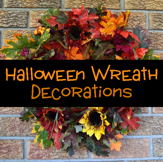 Halloween Front Door Wreaths for Fall are a Traditional Sign of Welcome Decorations Home Autumnal