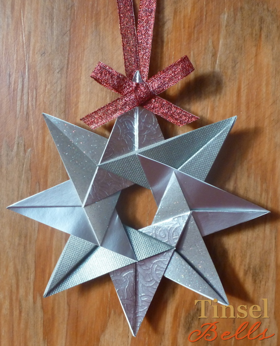 paper craft folding easy origami style star instructions tutorial craft