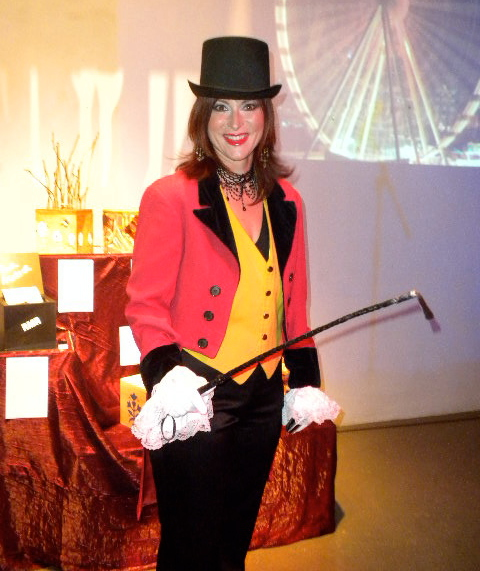 Female circus ringmaster costume halloween and other dressing up occasions