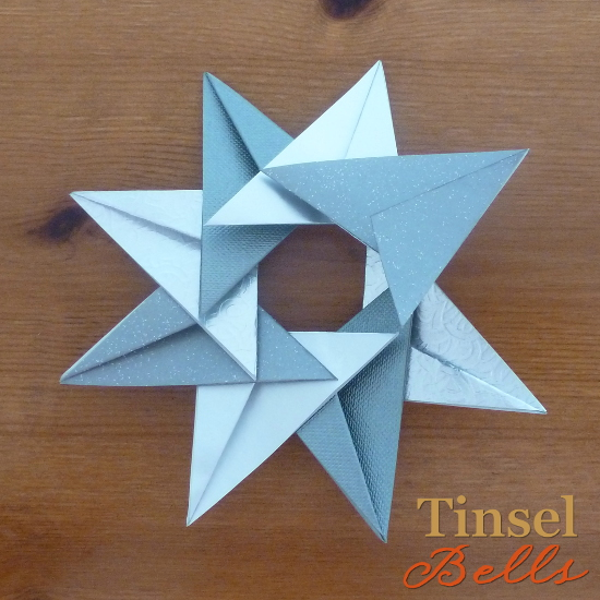 last piece added to make the star shape