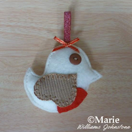 How to make a felt robin plush design sweet little handmade craft