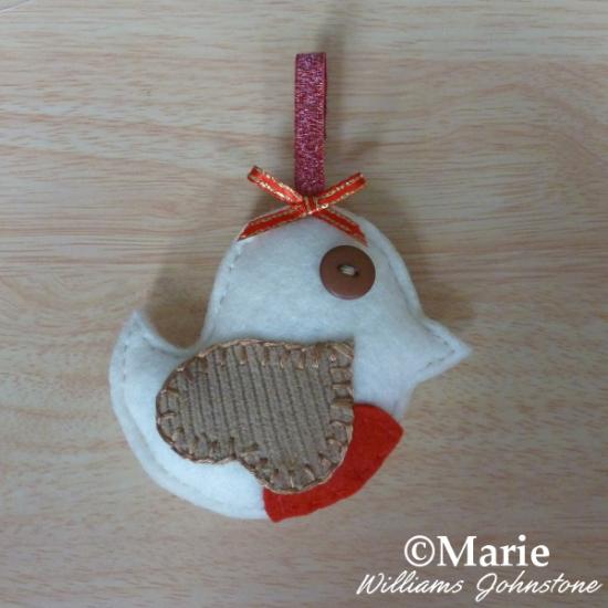 How to make a felt robin plush design sweet little handmade craft
