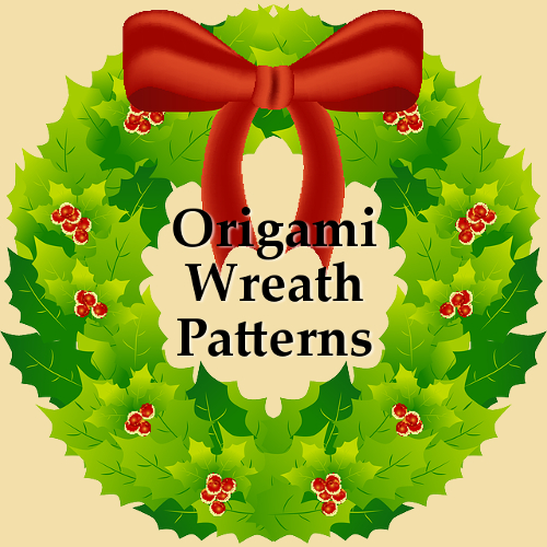 Easy Christmas Origami Wreath Patterns Ideal for Festive Holiday Crafting Crafts Paper Folding