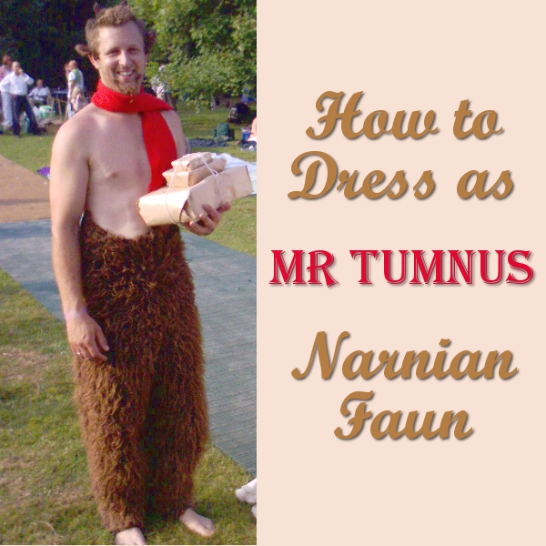 Mr Tumnus Costume Ideas Chronicles of Narnia Faun Satyr Fancy Dress Up Halloween Costumes Page Narnian