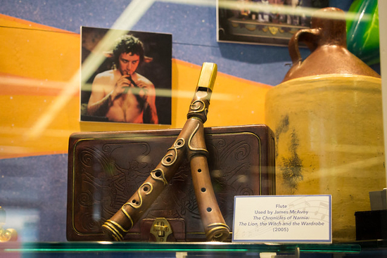 Mr Tumnus flute prop from the movie The Lion, The Witch and the Wardrobe