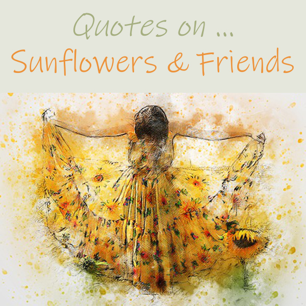 Quotes About Sunflowers and Friends Enjoy These Friendship Quotations and Sun Flower Friend Sayings Flowers Sentiments