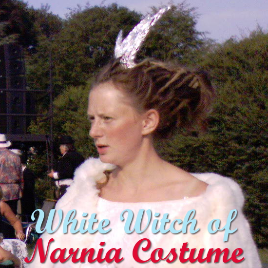 How to Get a Jadis the White Witch of Narnia Costume Look Costumes Guide Halloween Cosplay Narnian Ice Queen